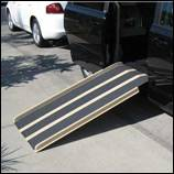 Variety of sizes for these portable ramps