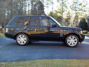 California Range Rover HSE Rental