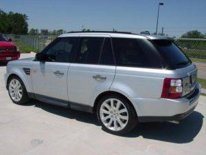 Los Angeles Sport Range Rover For Rent-Side View
