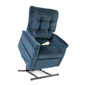 Blue Plush Recliner Lift Chair ...  sc 1 st  Rent It Today & Bariatric Recliner Lift Chair Rental Houston-Heavy Duty Electric ... islam-shia.org