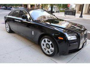 New York City Rolls Royce Ghost Rental