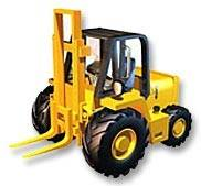 Columbia Rough Terrain Forklift