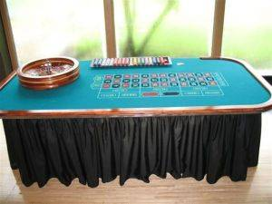 Louisville Casino Party Event Planning - Roulette Table Rentals - Kentucky Las Vegas Style Party Rental