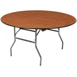 5 foot round tables for rent