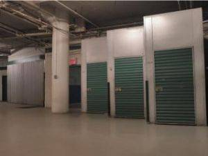 Indoor storage units in the Bronx