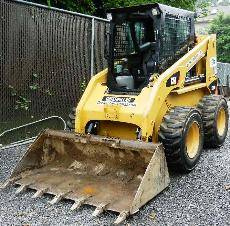 Cat Skid Steer For Rent-Danbury Skid Steer Rental