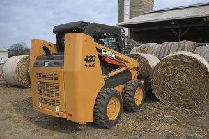 Clarksville Case 420 Skidsteer Loaders Rentals in TN