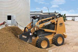 Paducah Case 450 Skidsteer Loaders Rentals in Kentucky