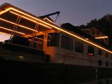 Night on Star Ship II Houseboat For Rent in Dale Hollow Lake, Tennessee
