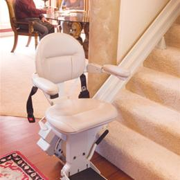Electric Stair Lift with Backup Batteries