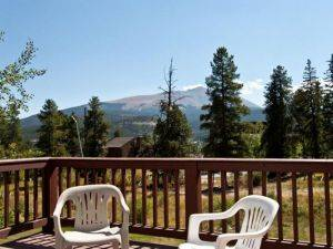 Breckenridge Vacation Rentals-Pines 101 View from Deck