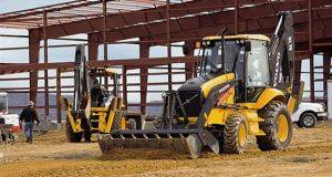 Springfield B60 Backhoe Loader Rental in Missouri