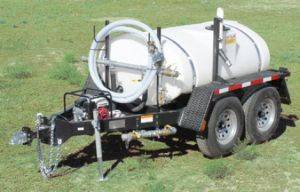 Capser Water Trailer Rental