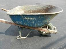 New York Push Wheelbarrow Rental