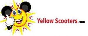 Yellow Scooter Wolley Logo