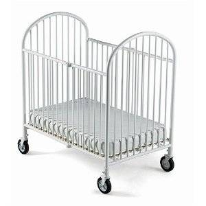 white baby crib available for rent