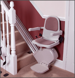 Stair Lift for Individuals With Mobility Problems