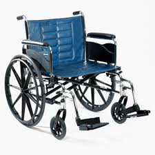 Blue Bariatric Wheelchair