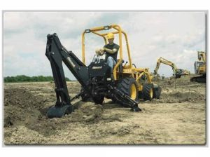 TLB 220 mini backhoe