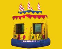 Inflatable Birthday Cake For Rent