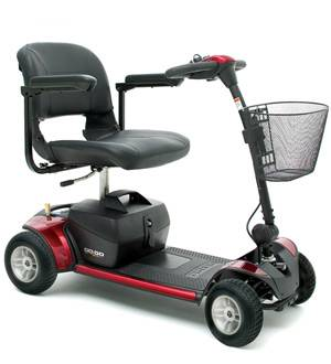 Virginia Portable Scooter Rental-Pride GoGo Mobility Scooter for Rent-Falls Church Medical Rentals:
