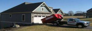 Dumpster rental home delivery in Cincinnati Ohio