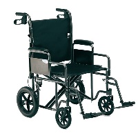 Heavy-Duty Transport Wheelchair