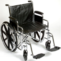 Heavy Duty Wheelchair With Footrest