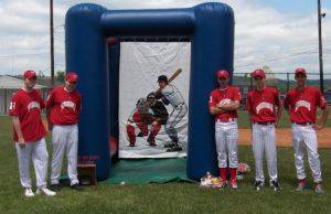 Louisville Party Rentals - Baseball Radar Speed Pitch Machine For Rent - Kentucky Party and Event Planning