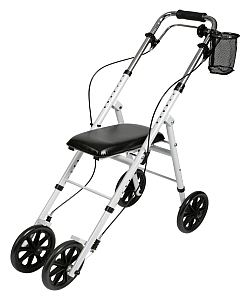 Knee Scooter With Front Brakes