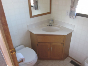 toilet on he houseboat rental