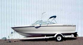 Lake Powell boats for rent.  Bayliner 5
