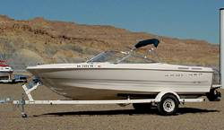 Lake Powell Boat Rentals.  Bayliner 6