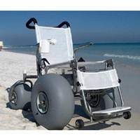 Beach Wheelchair With Stainless Steel Frame