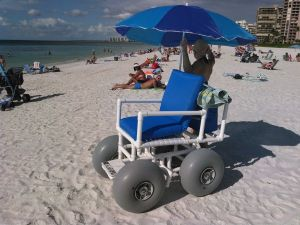 Beach Wheelchair Option On Marco Island