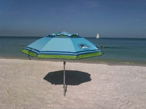Rental Rate Available For A Beach Umbrellas Marco Island