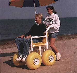 Beach Wheelchairs For Rental in Outer Banks, North Carolina