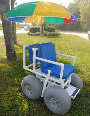 New Orleans Medical Equipment Rentals - Beach Wheelchairs For Rent - Louisiana Medical Supplies: