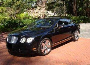 Pennsylvania Bentley GT Coupe Rental