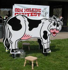 Louisville Party Rentals - Bessie the Cow Carnival Game For Rent - Kentucky Party and Event Planning