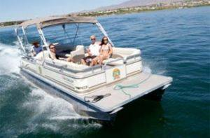 Pontoon Boats for Rent in Lake Havasu, Arizona