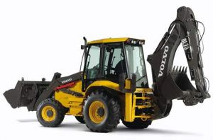 Volvo Back Hoe Loader from BlueLine Rental Witchita