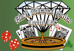 Logo For Black Diamond Casino Events