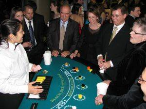 New Orleans Casino Party Package with Blackjack Table Rentals