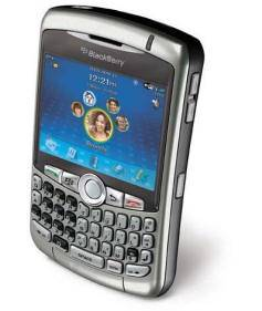 Orlando Cell Phone Rentals - Blackberry Curve Camera Phone for Rent: