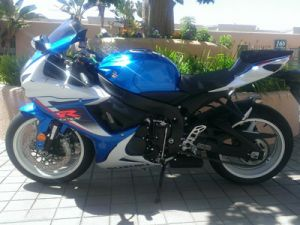Blue Suzuki For Rent