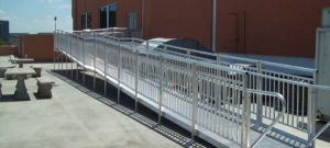 Aluminum Modular Ramp for Commercial Use