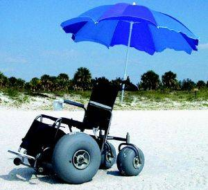 Pensacola Beach Wheelchair Rentals - Perdido Key Surf Chairs for Rent - Florida Rental Beach Wheelchairs