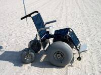 South Carolina Surf Chairs and mobility aids on Surfside Beach