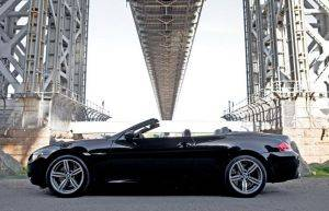 Exterior Image of BMW M6 Cabriolet For Rent